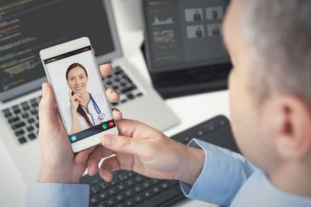 Telehealth over mobile device