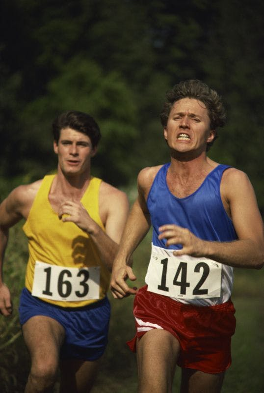 Competing Runners